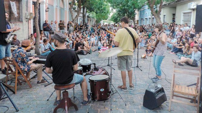 Uruguay que vibra al ritmo del 'jazz' y el grafiti