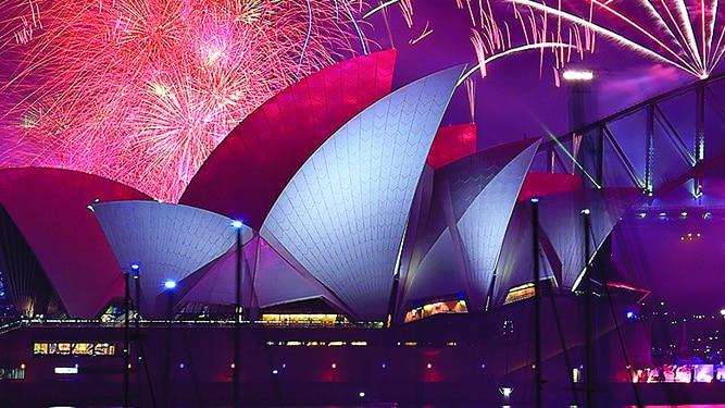 Año Nuevo en Facebook