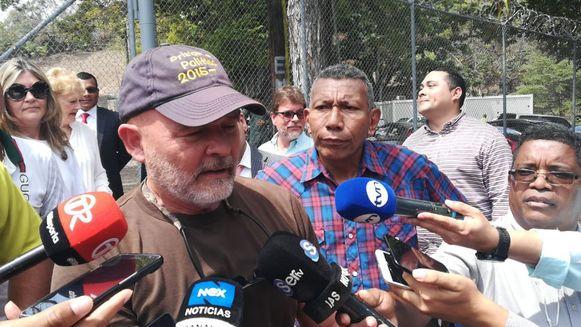 Gustavo Pérez, liberado de El Renacer