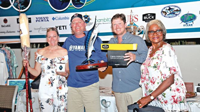 Happy Hookers se impuso en el torneo de pesca Tropic Star