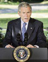 Bush acusa a demócratas por subida de la gasolina