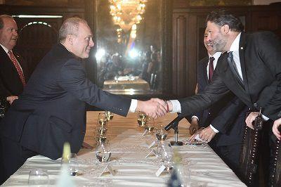 Cortizo trata temas de seguridad, cooperación e inversión con congresistas de Estados Unidos