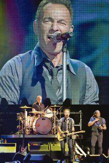 E Street Band le canta a Mandela