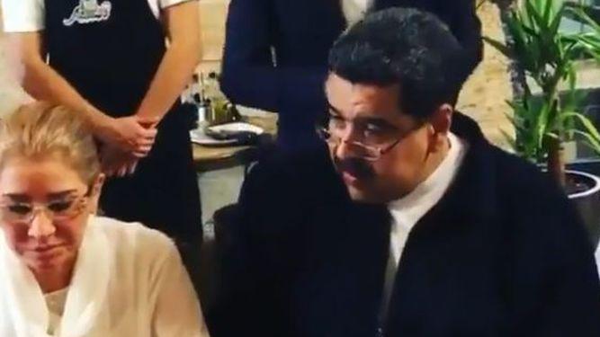 Indignación por el banquete de Maduro con un famoso chef de Estambul