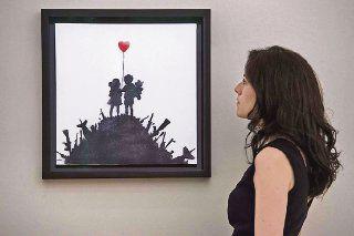 Puja por obras de Banksy