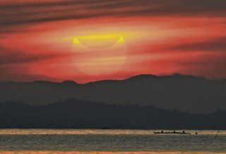 La Luna ´morderá´ al Sol en un llamativo eclipse