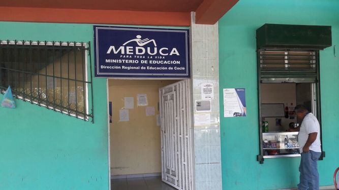 Hurtan $30 mil de la sede regional del Meduca en Coclé