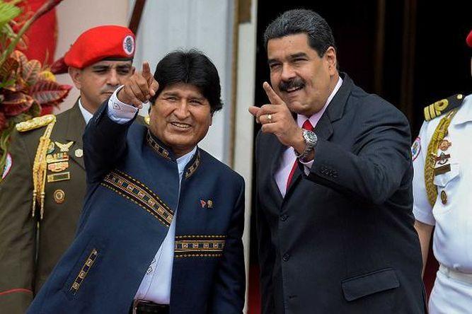 Evo Morales llega a Venezuela, tras tratamiento médico en Cuba
