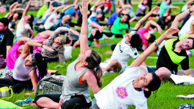 Jornada de yoga en el Canal