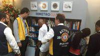 Inauguran la primera BiblioMetro en estación del Metro