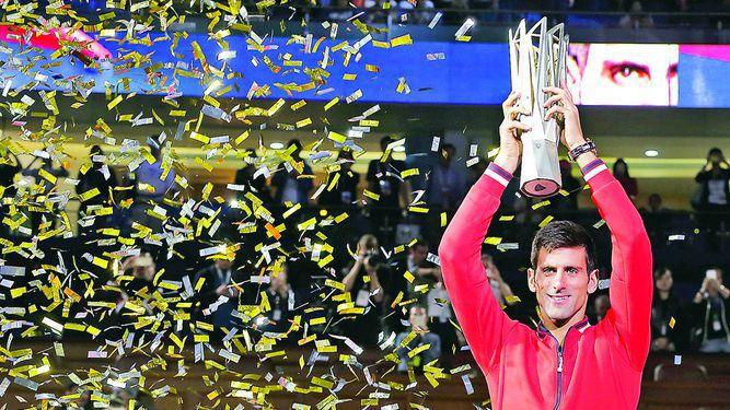 Djokovic y su tercer título