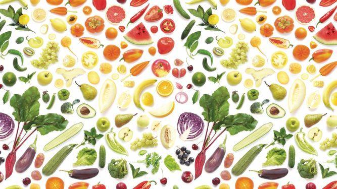 ¡A comer frutas y vegetales!