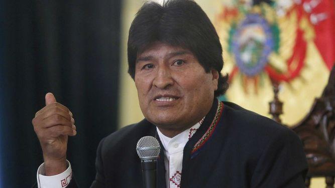 Morales hará contrademanda a Chile en respuesta a Bachelet
