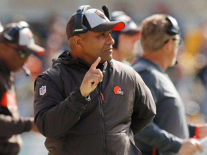 Browns despiden finalmente al técnico Hue Jackson