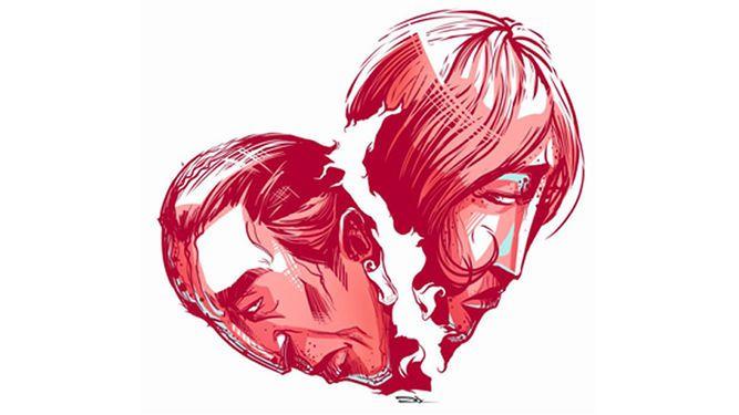 Divorcio entre parejas jóvenes