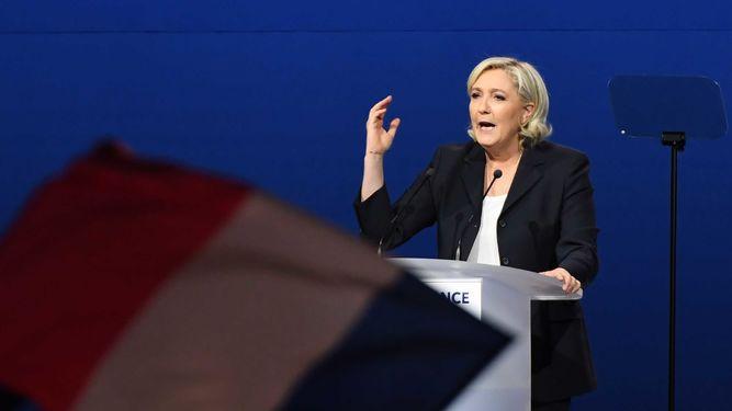 ¿Plagio o guiño? Discurso de Marine Le Pen busca votos de derechas