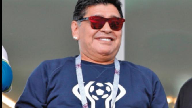 Maradona destacó la victoria de los mexicanos
