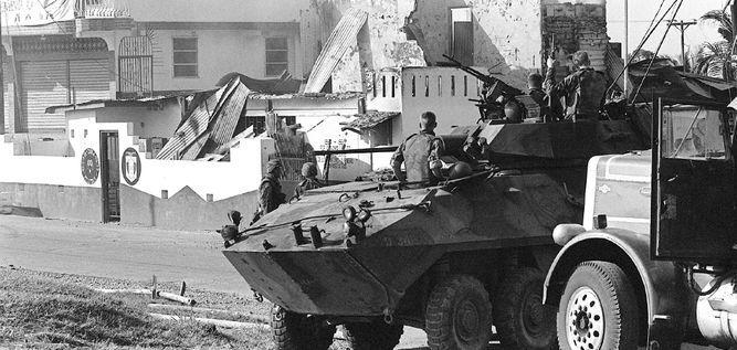 CIDH culpa a Estados Unidos por la invasión de 1989