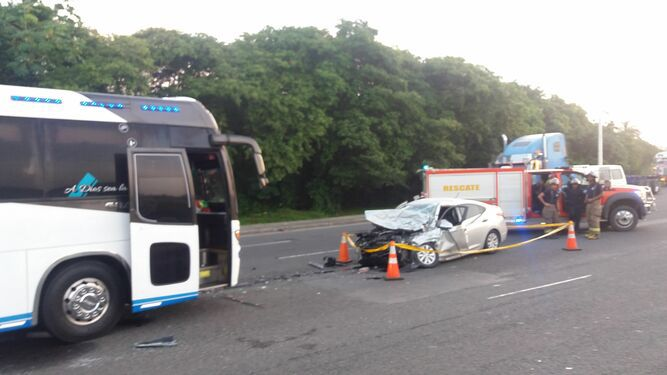 Colisión deja una víctima fatal en Colón