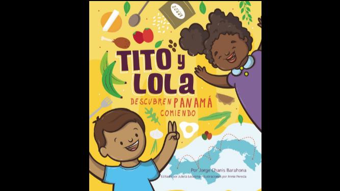 Jorge, Tito y Lola, descubren Panamá comiendo