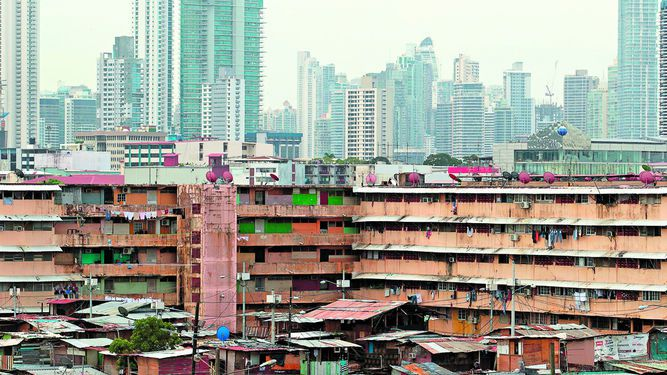 El lugar menos pobre de Panamá