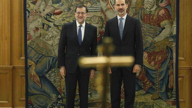 Mariano Rajoy jura como presidente del Gobierno español