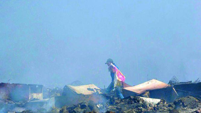 Monitorean vertedero de Macaracas tras incendio