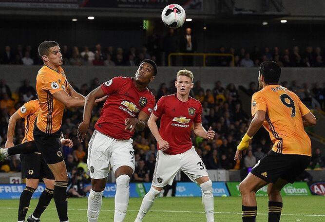 El Manchester United queda sin liderato tras empatar con Wolverhampton