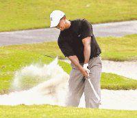 Woods y Singh quedaron fuera del torneo de golf