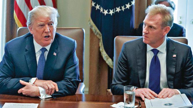 Shanahan reemplazará interinamente a Jim Mattis como secretario de Defensa