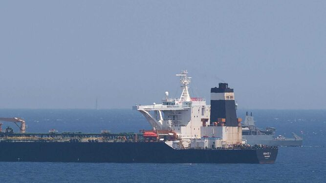 Irán pide a Londres la 'liberación inmediata' del petrolero interceptado en Gibraltar