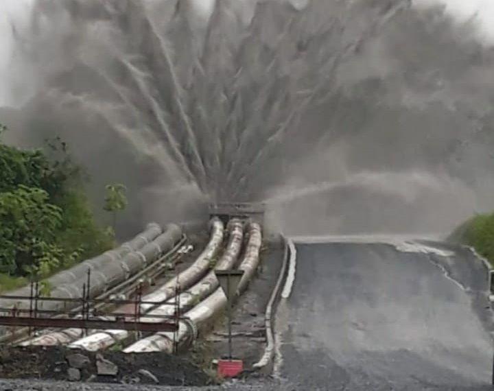 En investigación incidente ambiental, tras daño en tubería de Minera Panamá