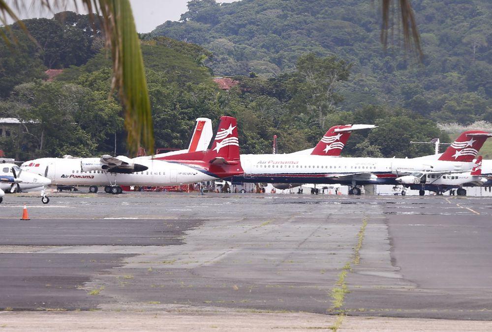 Decenas de pasajeros varados por suspensión de vuelos a Air Panamá