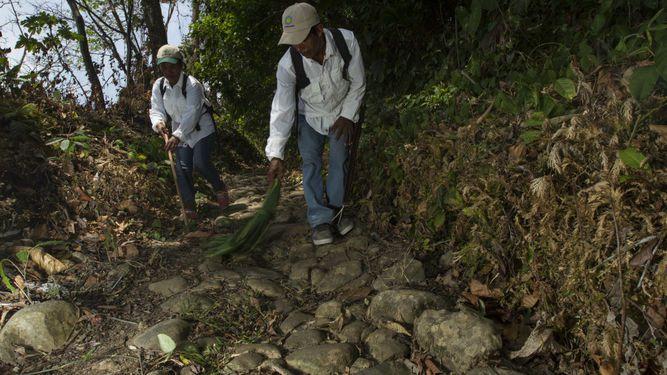 Rehabilitan 10 kilómetros del histórico Camino Real