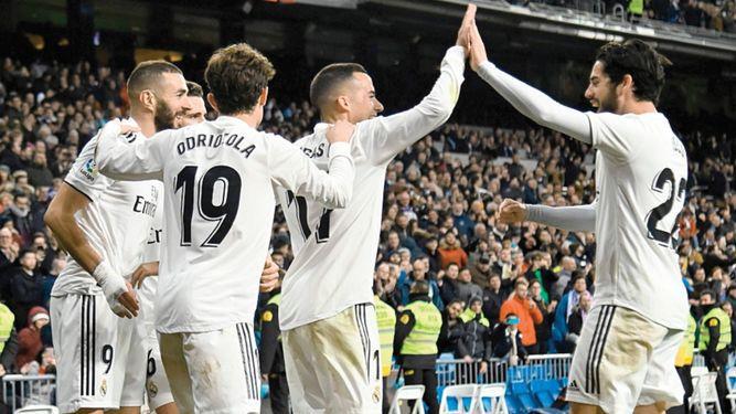 Real Madrid toma ventaja sobre el Girona en juego de ida