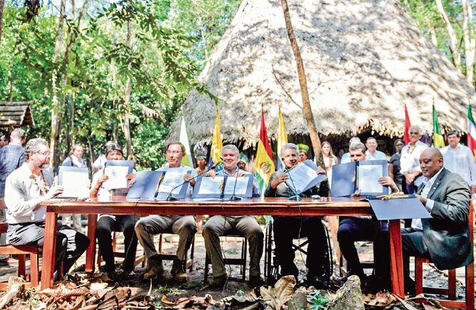 Cumbre por la Amazonía