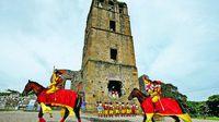 Reviven 496 años de historia en la ciudad