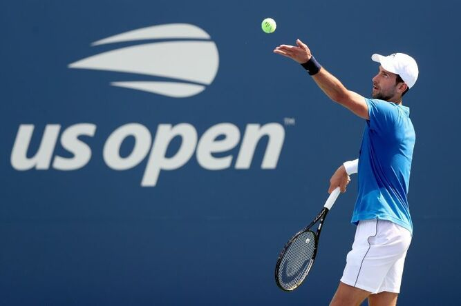 Novak Djokovic llega de favorito al US Open