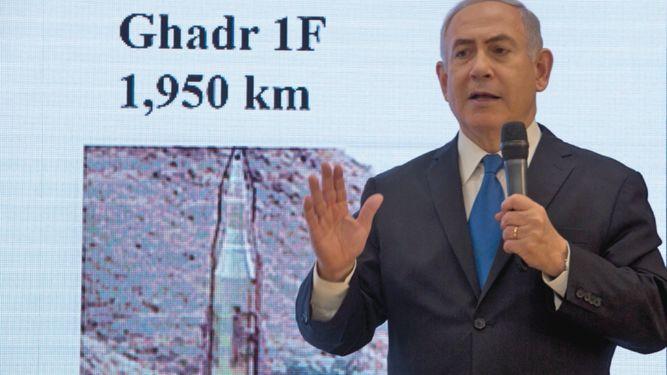 Israel tiene pruebas de plan nuclear secreto de Irán, afirma Netanyahu