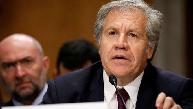 Almagro busca reelección al frente de Organización de Estados Americanos