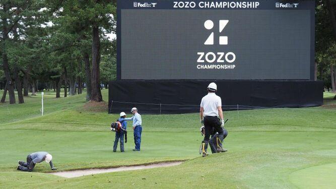 Postergan para el lunes la final del PGA de Japón