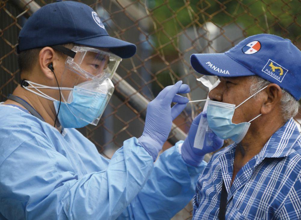 Panamá registra promedio de al menos 5 mil pruebas de Covid-19 por día: OPS