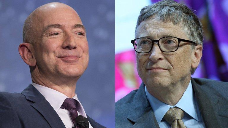 Gates busca trabajar con Bezos para combatir el cambio climático