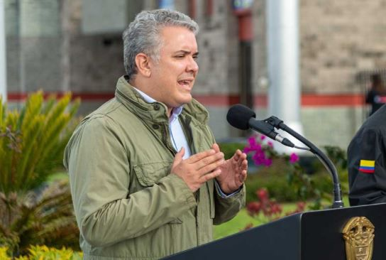 Iván Duque presenta reforma a la Policía Nacional
