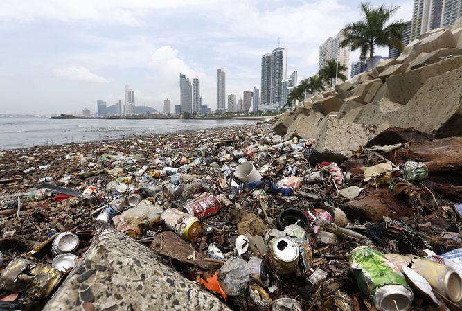 El 30% de la basura llega al mar