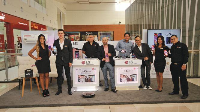 LG presenta el nuevo G7 ThinQ