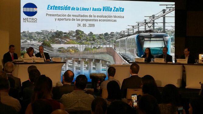 Consorcio integrado por OHL - Mota Engil obtiene mejor calificación para extensión del Metro a Villa Zaíta