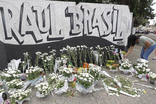 Multitudinario adiós a las víctimas de matanza en colegio de Sao Paulo