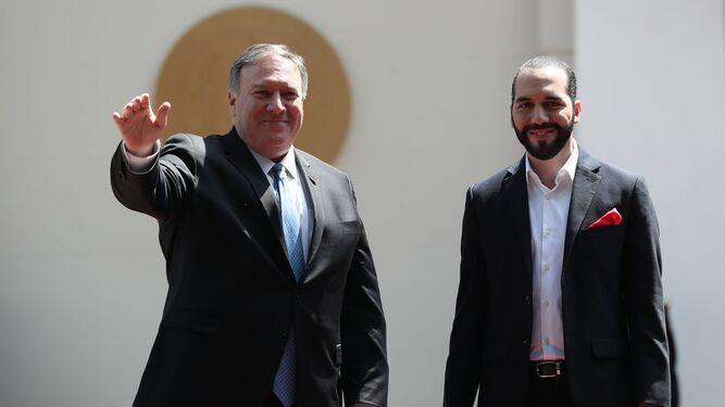 Pompeo llega a El Salvador en cierre de gira latinoamericana