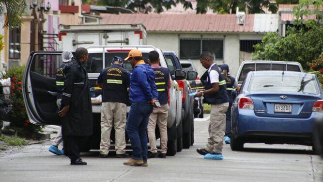 Asesinan a abogado en Las Acacias; Martinelli llega a la escena